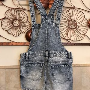 Jeans - Denim shorts set, size 14(youth)